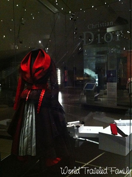 Royal Ontario Museum John Galliano's Passage # 5 gown