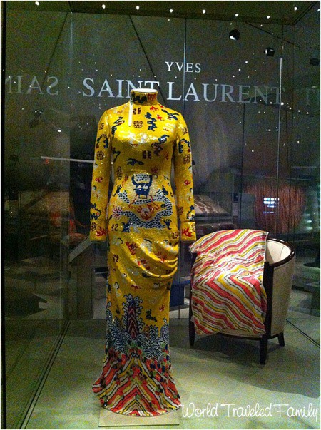 Royal Ontario Museum - Tom Ford for Yves Saint Laurent dress