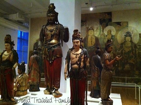 Royal Ontario Museum - bodhisattvas