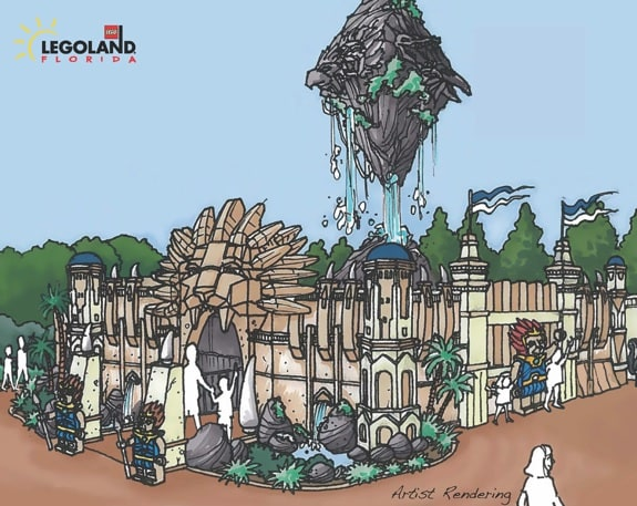 World of Chima Legoland - Entry