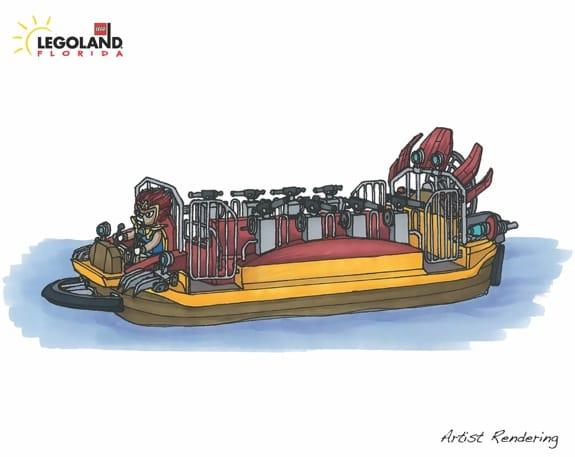 World of Chima Legoland  -Ridevehicle