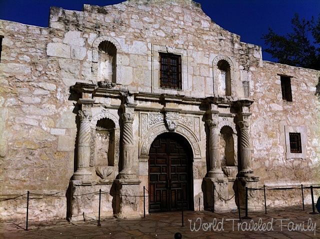 Chapel of the Alamo Mission San Antonio