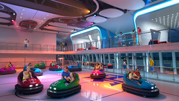 Quantum of the Seas - bumper cars