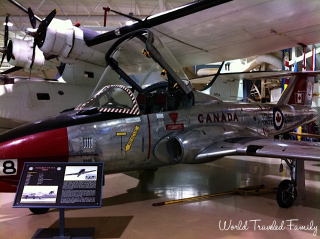 Canadian Warplane Heritage Museum - CT-114 Tutor