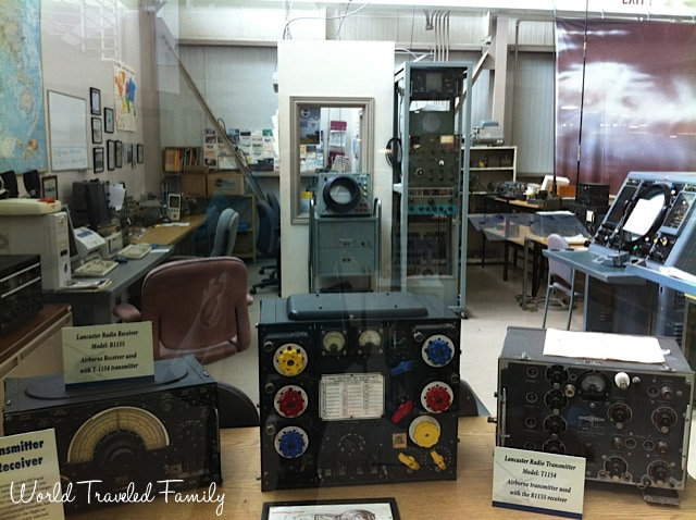 Canadian Warplane Heritage Museum - communications center