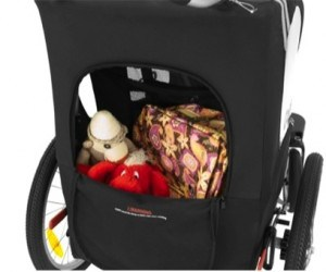 CocoonX2 Double Stroller back storage