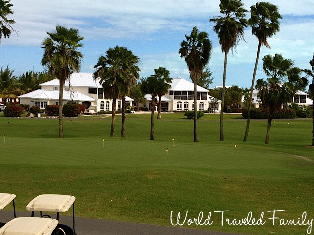 Provo Golf Club Clubhouse Turks & Caicos