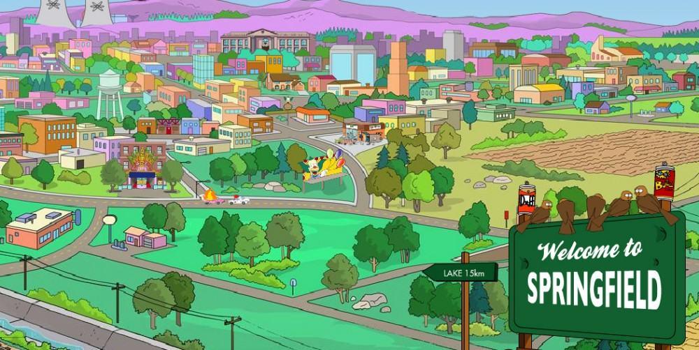 Springville Oregon Simpsons