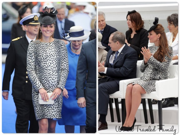 Catherine Middleton Duchess of Cambridge Christens the Royal Princess