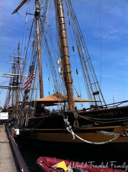 Pride of Baltimore Tall Ship Festival