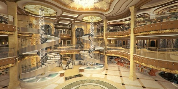 Royal Princess - - Atrium