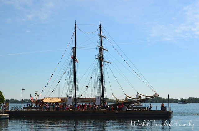 STV Unicorn - Tall Ship Tour