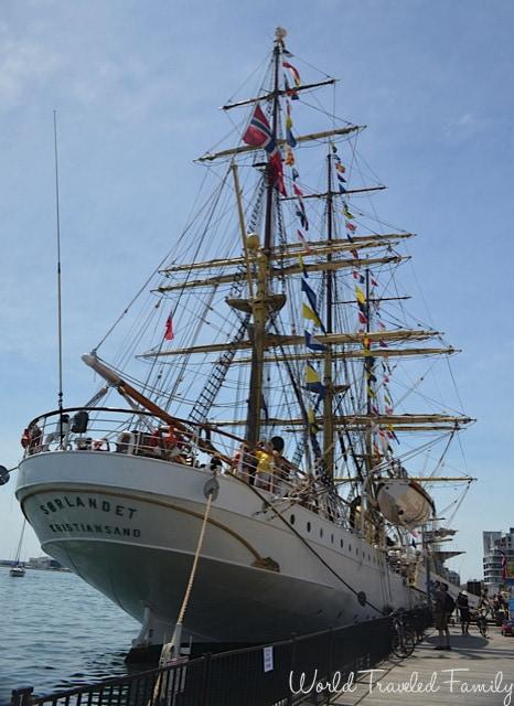 Sorlandet Tall Ship in Toronto