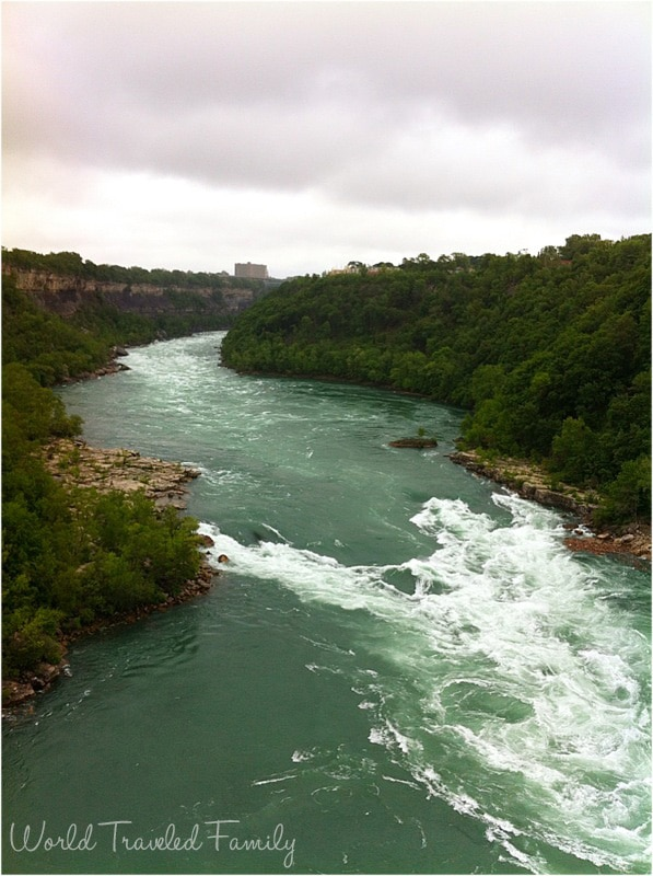 View from Whirlpool Aero Car Niagara Falls