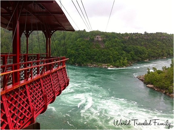 View of Whirlpool Aero Car Niagara Falls