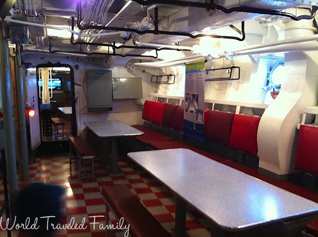 HMCS Haida - main galley