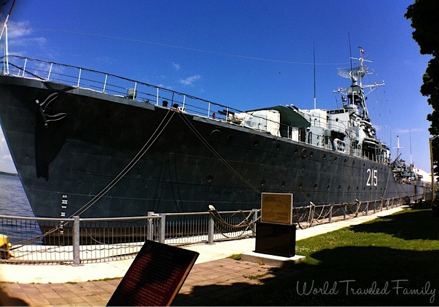 Daytripping in Ontario ~ Visiting the HMCS Haida