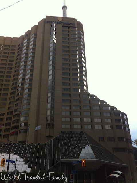 Intercontinental Toronto - from the street