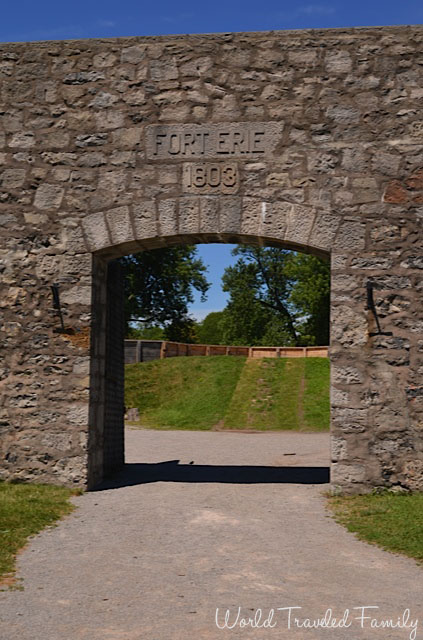Old Fort Erie - entrance