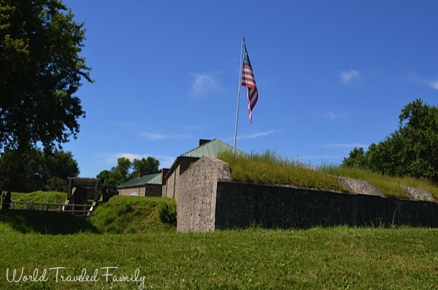 Old Fort Erie - view from outside the fort