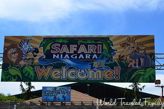 Safari Niagara - entrance