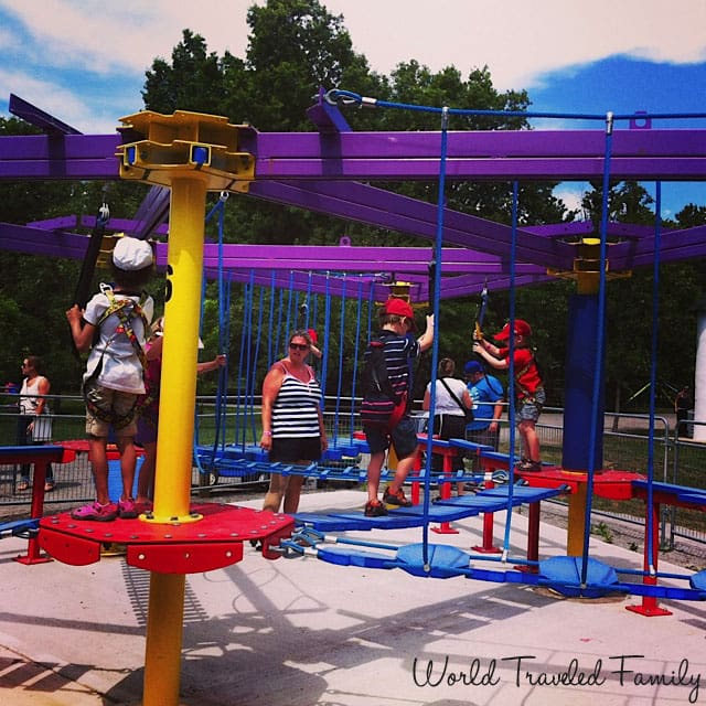 Safari Niagara - kids ropes course