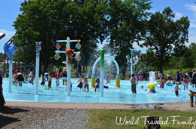 Safari Niagara - splash pad