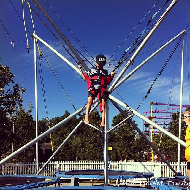 Safari Niagara - trampoline