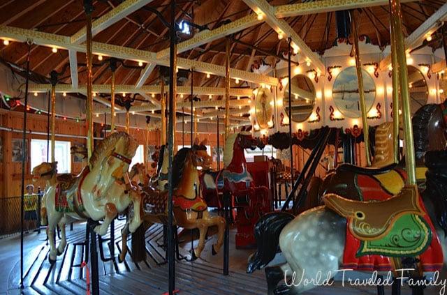 Allan Herschell Carrousel Factory Museum - #1 special Carrousel