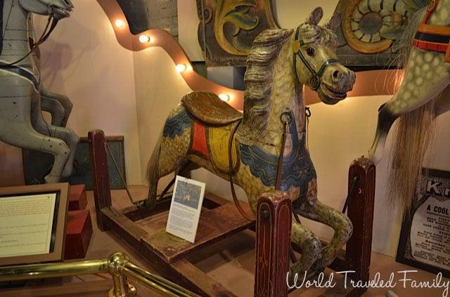 Allan Herschell Carrousel Factory Museum - 1919 rocking horse