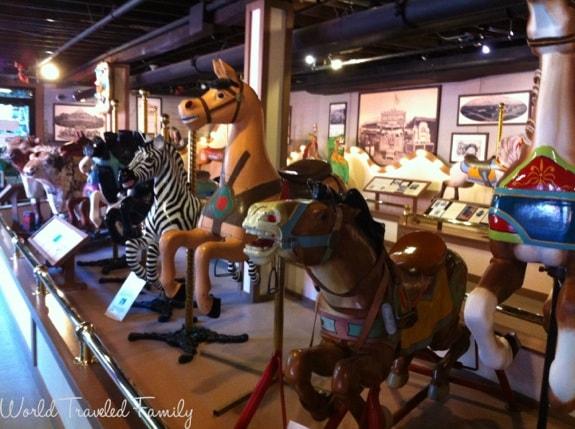 Allan Herschell Carrousel Factory Museum - figures