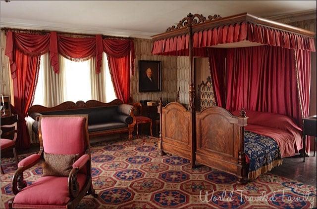 Dundurn Castle - Mr. MacNabb's room