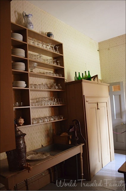 Dundurn Castle - butlers pantry