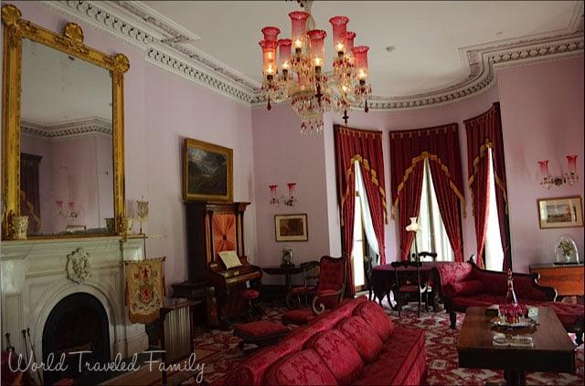 Dundurn Castle - formal living room