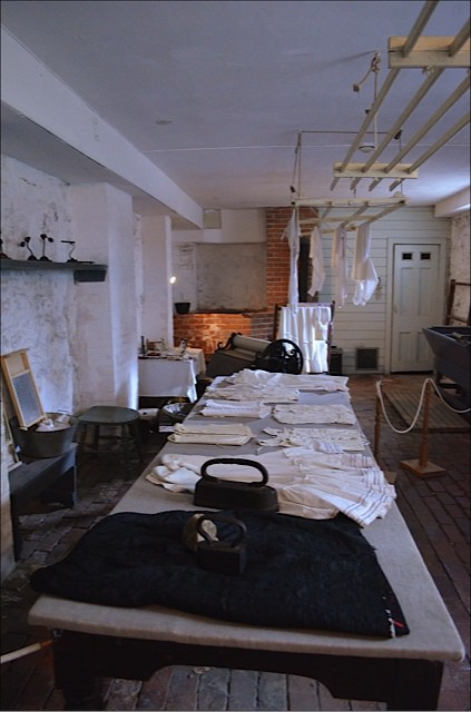 Dundurn Castle - laundry room