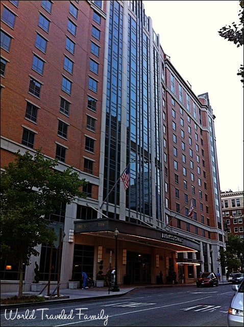 Embassy Suites Washington, DC - front view