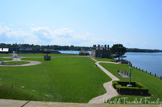 Old Fort Niagara from above