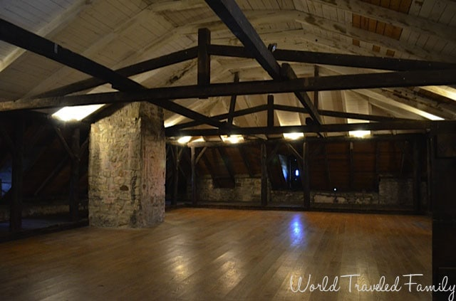 Old Fort Niagara - third floor of the castle