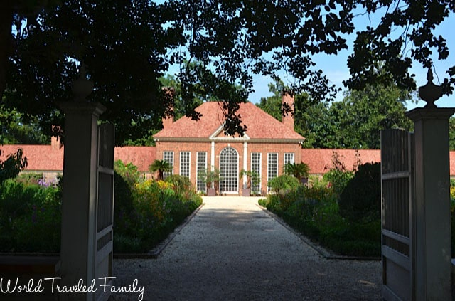 George Washington's Mount Vernon - Upper Gardens