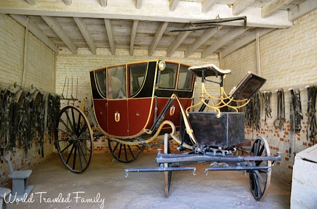George Washington's Mount Vernon - carriage