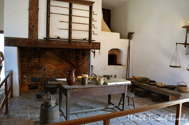 George Washington's Mount Vernon - kitchen