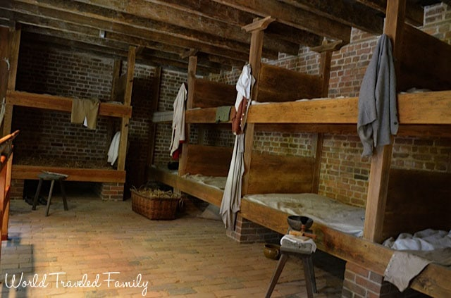 George Washington's Mount Vernon - mens slave quarters