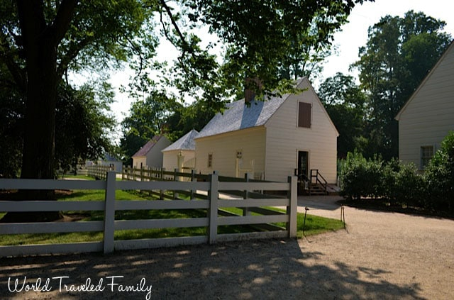 George Washington's Mount Vernon - outhouses