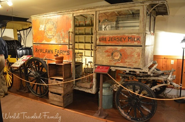 Thrasher Carriage Museum - Milk Wagon