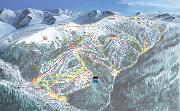 Keystone resorts ski hills
