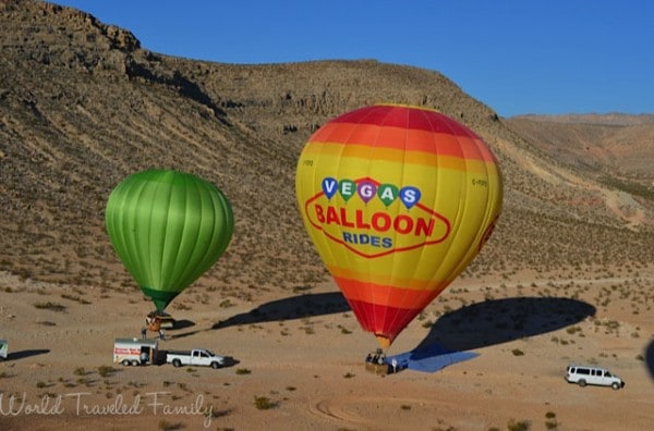 Landing - Vegas Balloon Ride