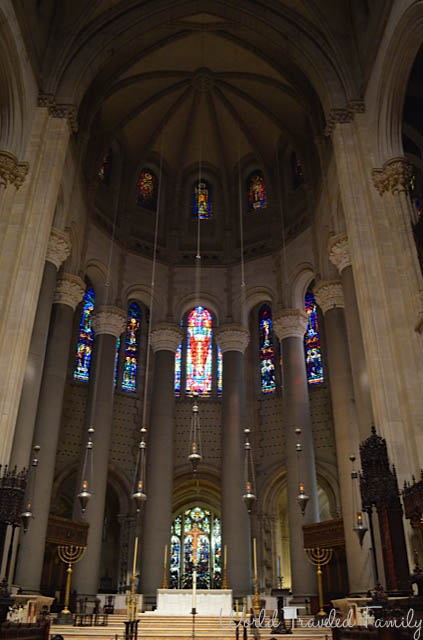 The Cathedral Church Of Saint John the Divine - altar