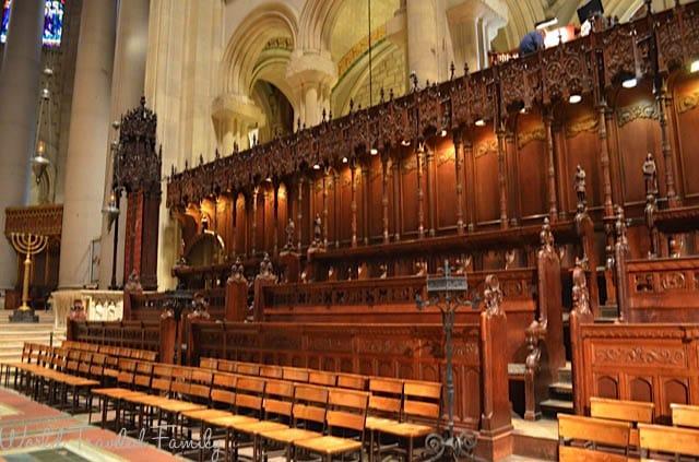 The Cathedral Church Of Saint John the Divine - choir seating r