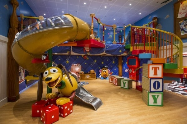 Andy's Room - Toy Story Boot Camp on Disney Magic