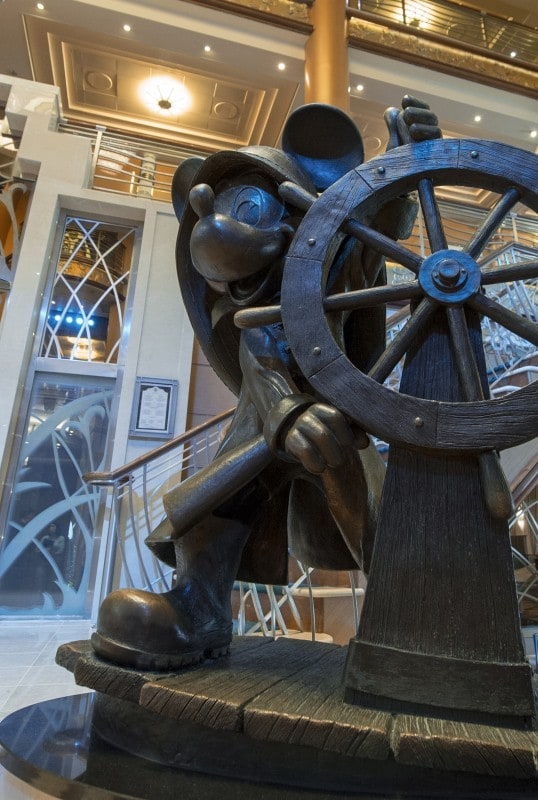 Disney Magic Atrium - Helmsman Mickey